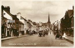 - Royaume Uni - Ref- A684 - Nonmouth - Monnow Street - County Garage - Cafe Royal - Carte Bon Etat - - Royaume-Uni