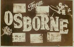 - Royaume Uni - Ref- A683 - Osborne - Carte Souvenir Multi Vues - Carte Bon Etat - - Royaume-Uni