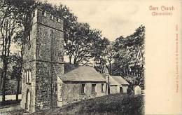 - Royaume Uni - Ref- A681 - Oare - Oare Church - Devonshire -   Carte Bon Etat - - Angleterre