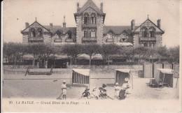 Cp , 44 , LA BAULE , Grand Hôtel De La Plage - La Baule-Escoublac