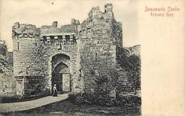 - Royaume Uni - Ref- A678 - Beaumaris Castle  - Carte Bon Etat - - Royaume-Uni