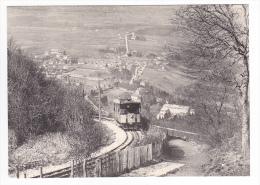 REPRODUCTION TRAIN VOIR DOS 74 Automotrice Pour Les Treize Arbres Au Pas De L'Echelle Chemin De Fer Du Salève Vers 1920 - Annemasse