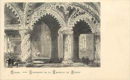 - Royaume Uni - Ref- A669 -  Ecosse - Roslin - Interieur De La Chapelle De Roslin  - Carte Bon Etat - - Ecosse