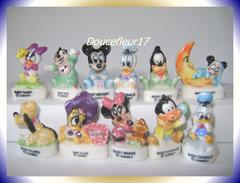 Baby Mickey... Lot De 11 Feves....Ref AFF 23-1997 ...(pa 0023) - Disney