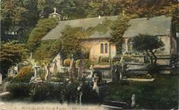- Royaume Uni - Ref- A667 - Ile De Wight - Isle Of Wight - Bonchurch - Old Church - Carte Bon Etat - - Angleterre