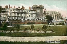 - Royaume Uni - Ref- A663 - Dublin - The Castle  - Carte Bon Etat - - Royaume-Uni