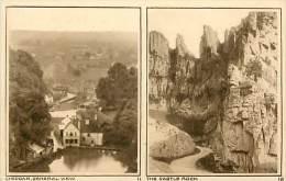 - Royaume Uni - Ref- A662 - Cheddar - General View - The Castle Rock - Carte Multi Vues - Carte Bon Etat - - Royaume-Uni