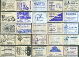 25 Alte Gasthausetiketten Aus Deutschland #157 - Luciferdozen - Etiketten