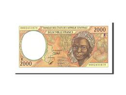 États De L'Afrique Centrale, 2000 Francs, 2000, Undated, KM:203Eg, NEUF - États D'Afrique Centrale