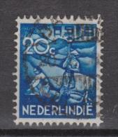 Nederlands Indie Netherlands Indies Dutch Indies 234 Used ; A.S.I.B 1937 - Niederländisch-Indien