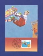Australien 1990  Mi.Nr. 1223 A , Skateboarding - SPORT -  Maximum Card - First Day 27 August 1990