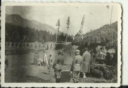 SERBIA   --   ORIGINAL PHOTO  --  SOLDATEN  --  SA SLAVE 1935 --   8,5 Cm X  6 Cm - Militaria