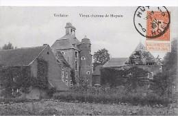VERLAINE  Vieux Ch�teau de Heps�e  - oblit�ration recto Huy 1914