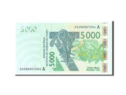 West African States, 5000 Francs, 2003, KM:117Aa, Undated, NEUF - États D'Afrique De L'Ouest