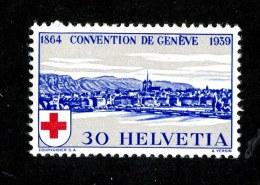 9743  Swiss 1939  Michel #358*   ( Cat. .50€ ) - Ungebraucht