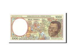 États De L'Afrique Centrale, 1000 Francs, 1994, Undated, KM:302Fb, NEUF - États D'Afrique Centrale