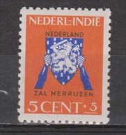 Nederlands Indie Netherlands Indies Dutch Indies 290 MLH ; Vrij Nederland Zegels 1941 - Niederländisch-Indien
