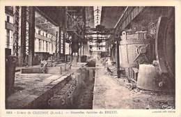 METIERS Industrie - USINES SCHNEIDER Nouvelles Aciéries Du BREUIL (71) LE CREUSOT - CPA (usine Fabrik Fabriek Factory ) - Industrie