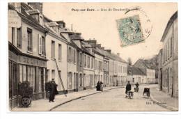 Eure :Pacy-sur-Eure :  Rue Boudeville - Pacy-sur-Eure