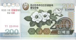 North Korea - Pick 54 - 200 Won 2007 - Unc - Commemorative - Corea Del Nord