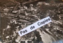 ALES -365- Vue Aérienne 10/15, (assez Rare), Vue Sur La Royale, Le Pont Suspendu, Puits De FONTANES ET DESTIVAL - Alès