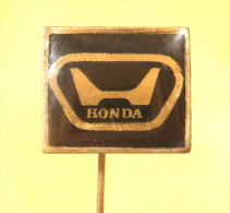 HONDA - Old Pin Badge Of AUTO MOTO YUGOSLAVIA - Honda