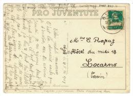 Suisse /Schweiz/Svizzera/Switzerland // Pro-Juventute // Carte Pro-Juventute 1927  Carte No. 138 - Pro Juventute
