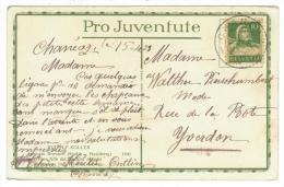Suisse /Schweiz/Svizzera/Switzerland // Pro-Juventute // Carte Pro-Juventute 1922  Carte No. 95 - Lettres & Documents