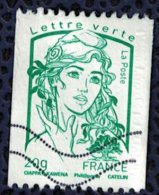 France 2013 Oblitéré Used Marianne Ciappa Et Kawena LV 20g Pour Roulette Y&T 4778 - 2013-... Marianne De Ciappa-Kawena