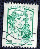 France 2013 Oblitéré Used Marianne Ciappa Et Kawena LV 20g Pour Roulette Y&T 4778 - 2013-... Marianne (Ciappa-Kawena)