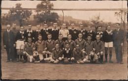 ! 1921 Alte Fotokarte Photo, Sportfreunde Guteborn Pokalspiel, Fußball, Sport - Fútbol