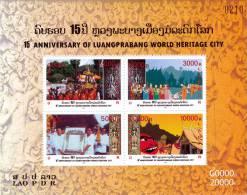 LAOS - 2010 - Mi BL. 227 - LUANG PRABANG - SPECIAL OFFER 60% OFF - MNH ** - Laos
