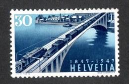 9755  Swiss 1947  Michel #487*   ( Cat. 1.50€ ) - Ungebraucht