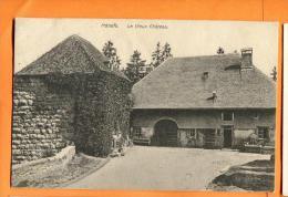 PBY-27  Môtiers Le Vieux Château, Val-de-Travers. Cachet 1909 - NE Neuenburg