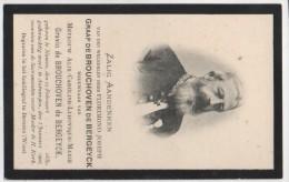 Florimond Graaf De Brouchoven De Bergeyck Wed Gravin De Brouchoven De Bergeyck °Namen 1839 + 3/1/1908 Antwepen Photo - Obituary Notices