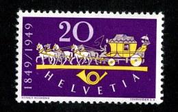 9768  Swiss 1949  Michel #520*   ( Cat. .25€ ) - Ungebraucht