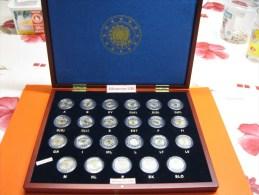 30 Jaar Europese Vlag 2 € 2015 - 23 UNC -munten ONMIDDELLIJK Beschikbaar In Meerdere Exemplaren. - Belgium