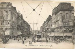 Marseille La Cannebiere Tram Tramway - The Canebière, City Centre