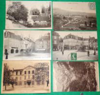Six CPA Arbois Chateau Bontemps, Ecole, Place, Cuisance  ... Jura 39 - Arbois