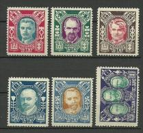 LITAUEN Lithuania 1922 = 6 Werte Aus Michel 126 - 137 * - Lithuania