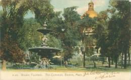 BOSTON - Brewer Fountain.  The Common - Boston