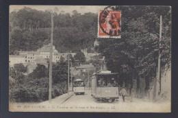 1917 Marseille (14°) Bon Secours Le Tramway Sur La Route De Bon Secours - Marseille