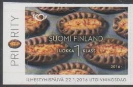 FINLAND ,2016, MNH, KARELIAN PASTY, 1v - Alimentazione