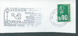 "Flamme Postale ""AVIGNON (Europa 1976"" - Autres - Europe"