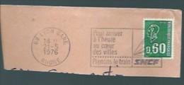 """Flamme Postale """" Pöur Arriver à L'Heure... SNCF"""" - Autres - Europe"""