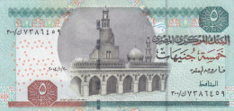 EGYPT 5 EGP 2004 P-63 MWR-RF15 SIG/ OQDA #21b REPLACEMENT 300 UNC */* - Egypt