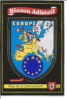 Blason Armoiries  Europe Héraldique Ecusson Adhésif - Stickers