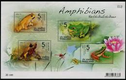 THAÏLANDE 2014 - Faune, Amphibiens, Grenouilles - BF Neufs // Mnh - Thailand