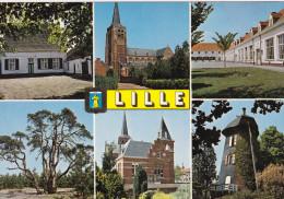Grote Kaart Lillle Groeten Uit Un Bonjour De Greetings From Grusse Aus Van Den Brande Lille - Lille