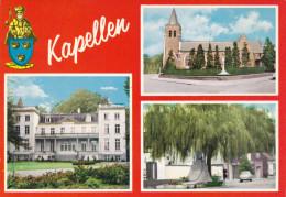 Grote Kaart Kapellen Spanjersberg - Kapellen